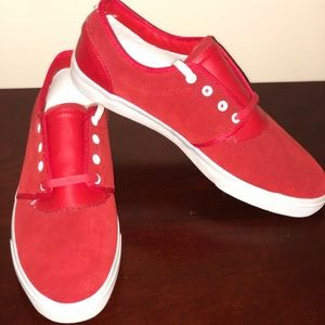 Diamond Red Suede
